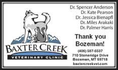 Best Veterinary 2018- Baxter Creek