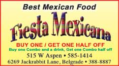Best Mexican Food 2018-Fiesta Mexicana
