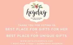 Best Place for Gifts for Her 2018-Hey Day