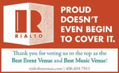 Best Event Venue 2018- Rialto Theatre