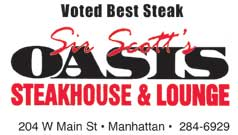 Best Steak 2018- Sir Scott Oasis