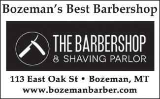 Best of bozeman Barbershop & Shaving