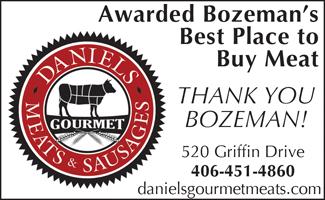 Daniels Meats Best of Bozeman Best Place to Buy Meat