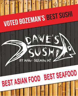 Daves Sushi best of bozeman