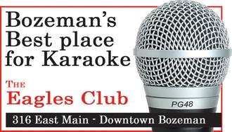 Best place for Karaoke Eagles Club Bozeman