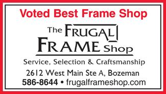 best of bozeman Frugal Frame Shop
