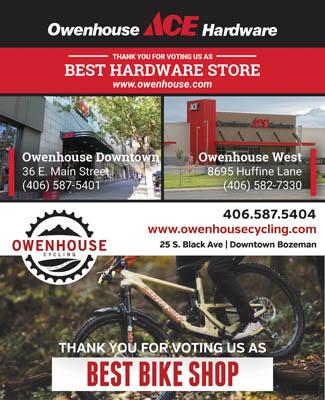 Owenhouse Hardware Best of Bozeman Best Hardware store 2021