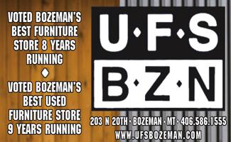 UFS (Used Furniture Store) Best of Bozeman Best Furniture Store 2021